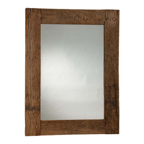 Reclaimed Wood Wall Mirror ,  , large