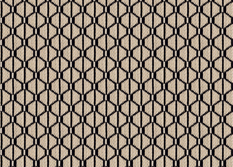 Ruba Graphite Fabric by the Yard