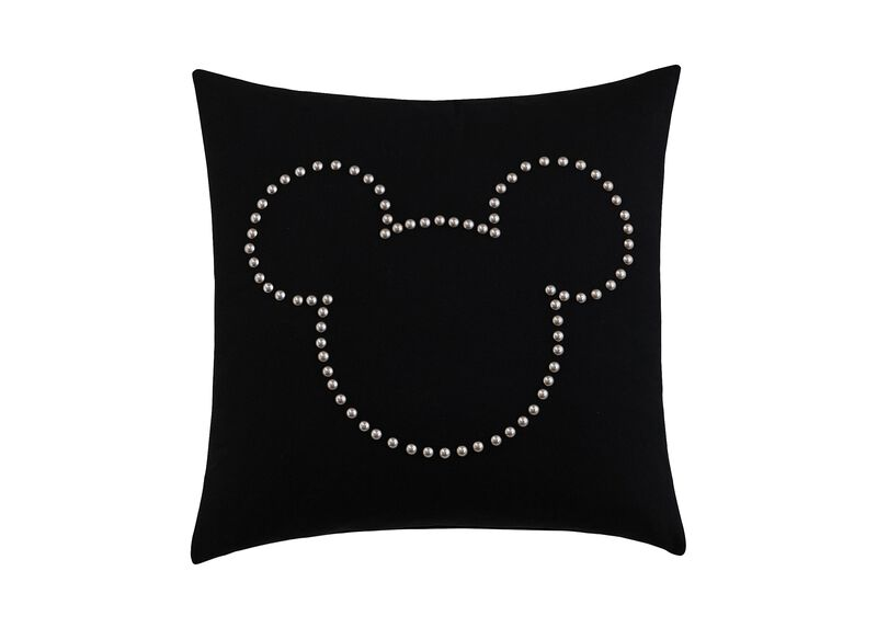 Mickey Mouse Nailhead Pillow