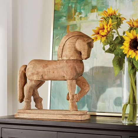 Campolina Wood Horse Sculpture Product Tile Hover Image 432404