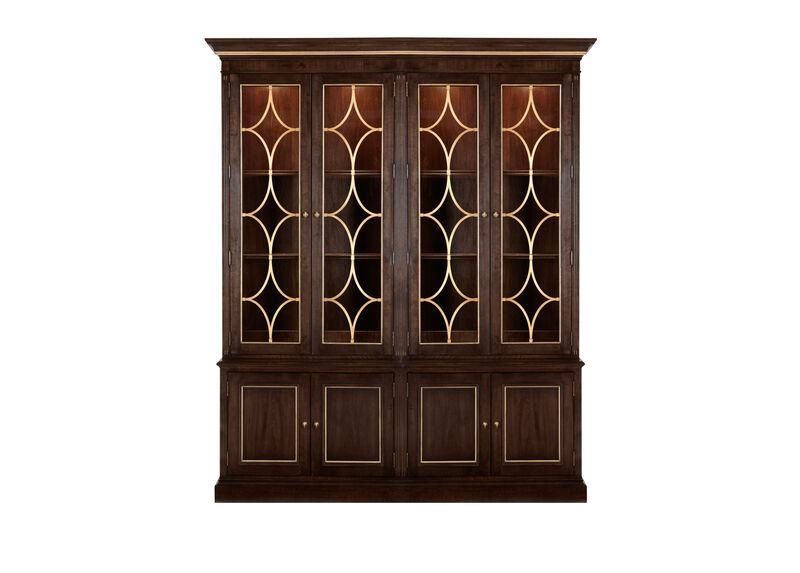 Weston Double Bookcase ,  , large_gray