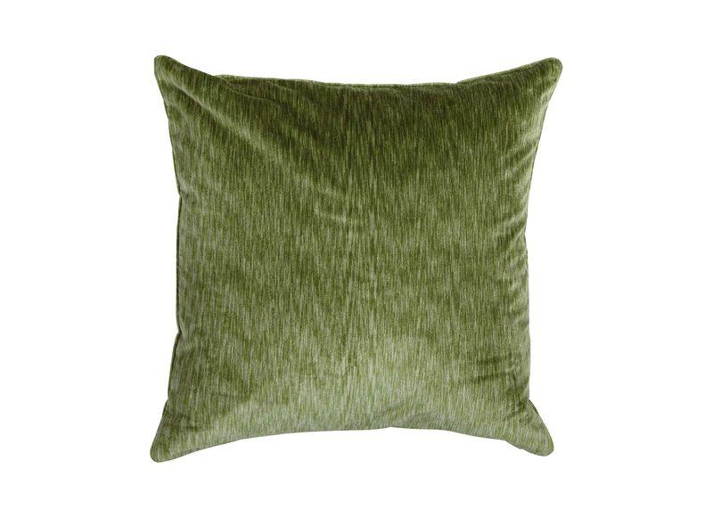 Velvet Strie Pillow, Green