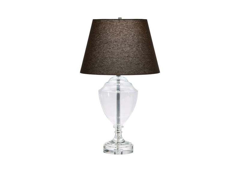 Glass Trophy Table Lamp