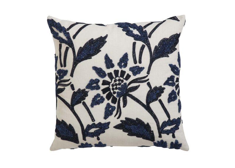 Bouclé Linen Pillow