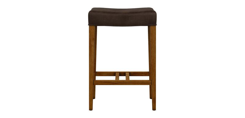 Harper Leather Counter Stool