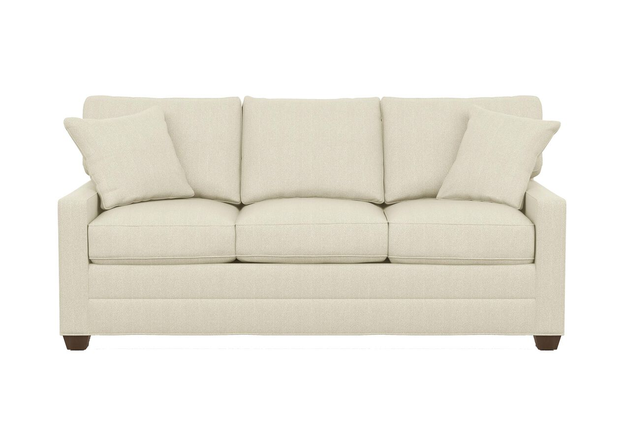 Bennett track arm three seat sofa the bennett collection for Ethan allen bennett sectional sofa