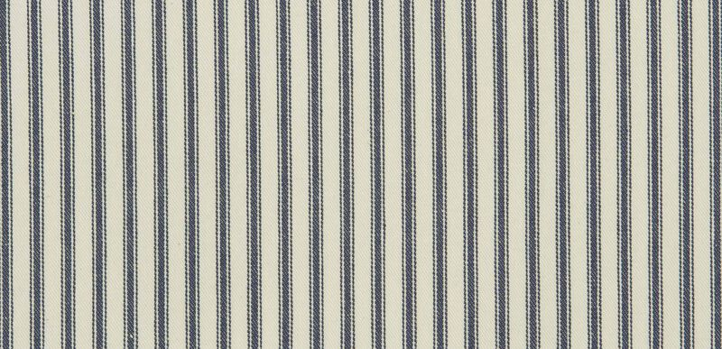 Ticking Denim Fabric By the Yard