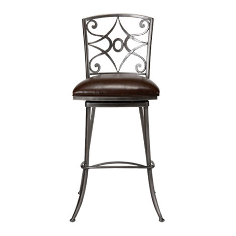Baylor Swivel Barstool ,  , large