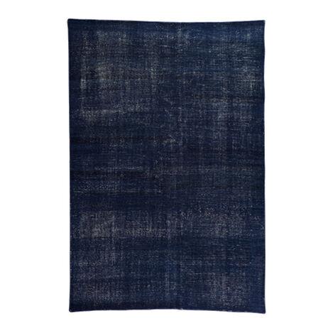 Vintage Navy Rug ,  , large