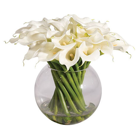 Calla Lilies in Vase Product Tile Image 442211