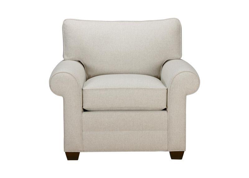 Bennett Roll-Arm Chair, Quick Ship