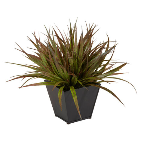 Dark Grass in Metal Container Product Tile Image 444171