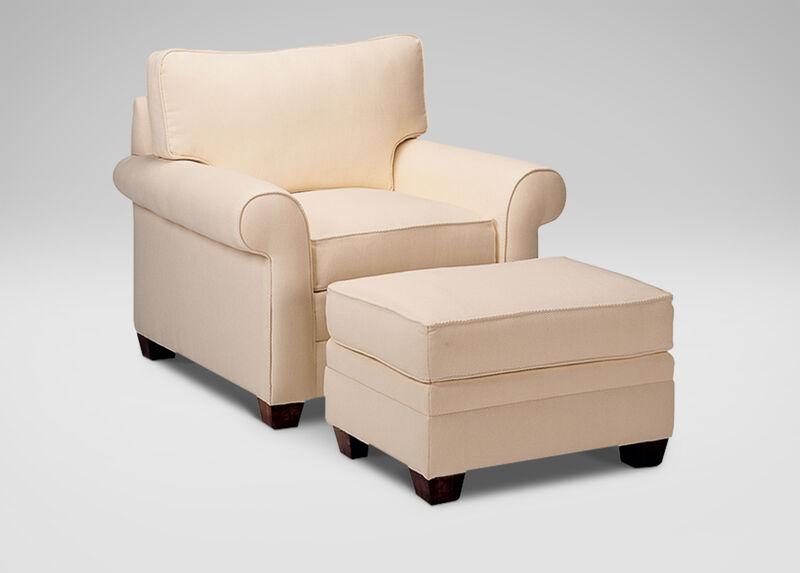 Bennett Roll-Arm Chair ,  , large_gray