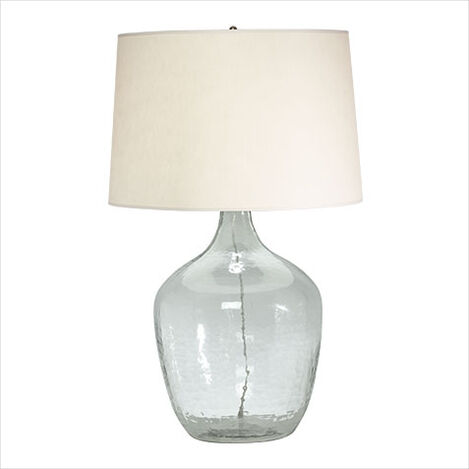 Oversized Plum Jar Table Lamp ,  , large