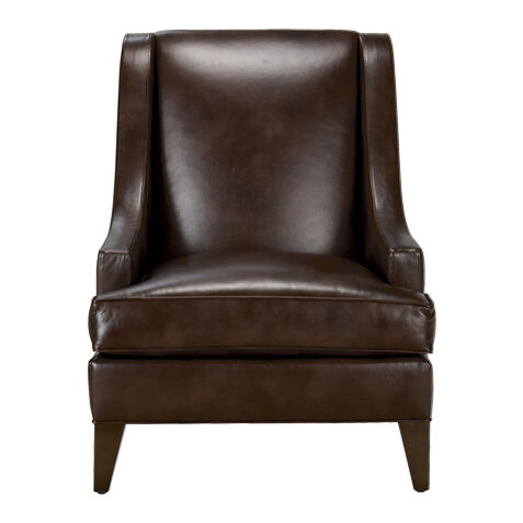 emerson leather chair quick ship
