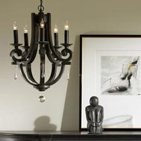 Black Lisi Small Chandelier ,  , hover_image