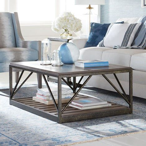 Beam Metal Base Coffee Table Product Tile Hover Image 258101
