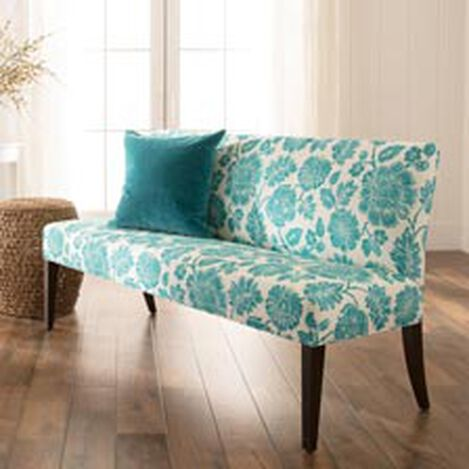 Clinton Bench, Amara Turquoise ,  , hover_image