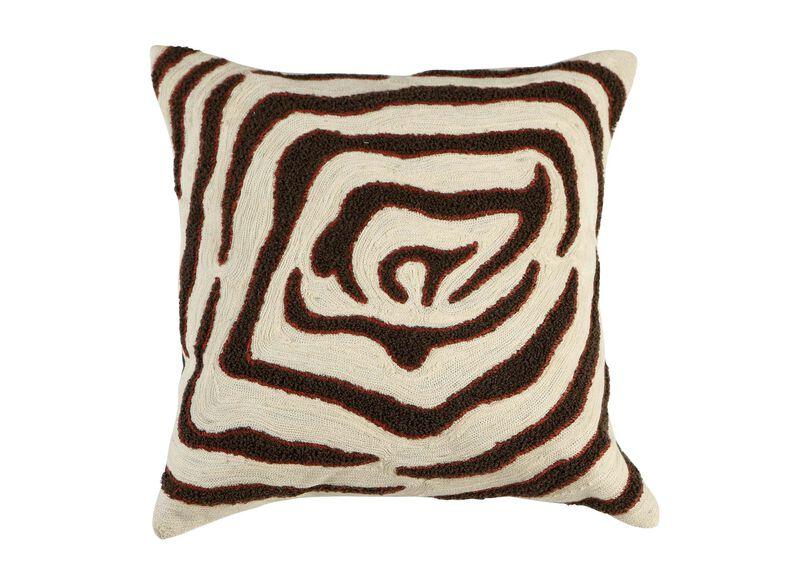 Modern Abstract Zebra Pillow