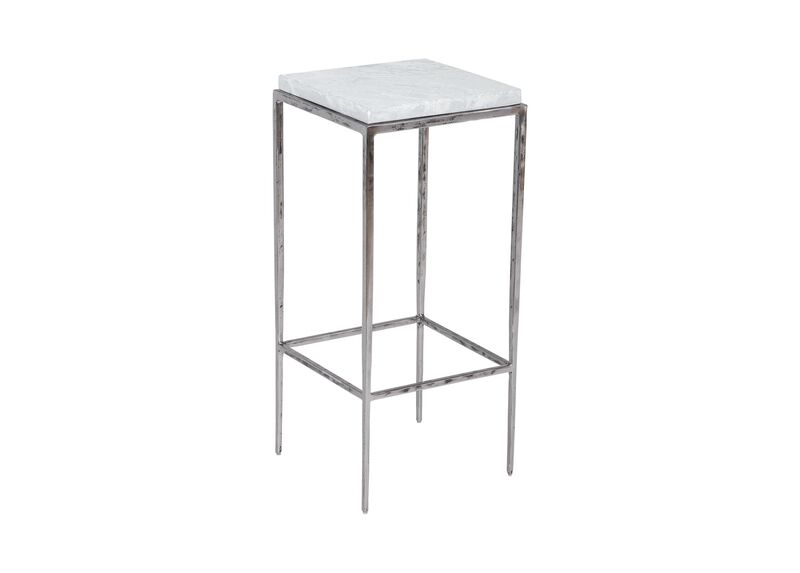 Griffith Stone-Top Accent Table