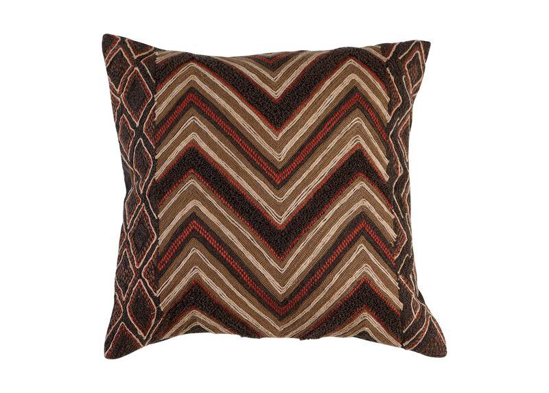Modern Tribal Chevron Pillow