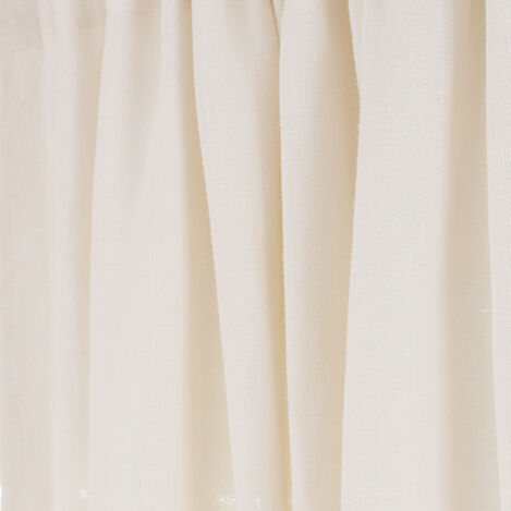 Ivory Sayre Washed Linen Fabric ,  , large