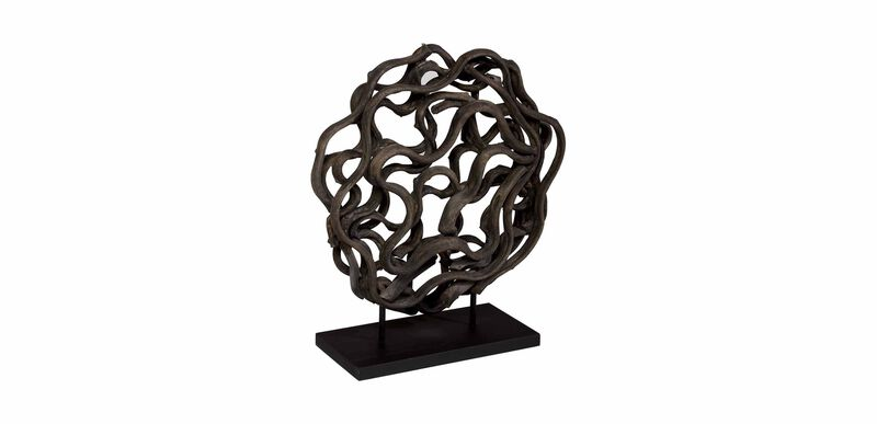 Charcoal Weston Sculpture