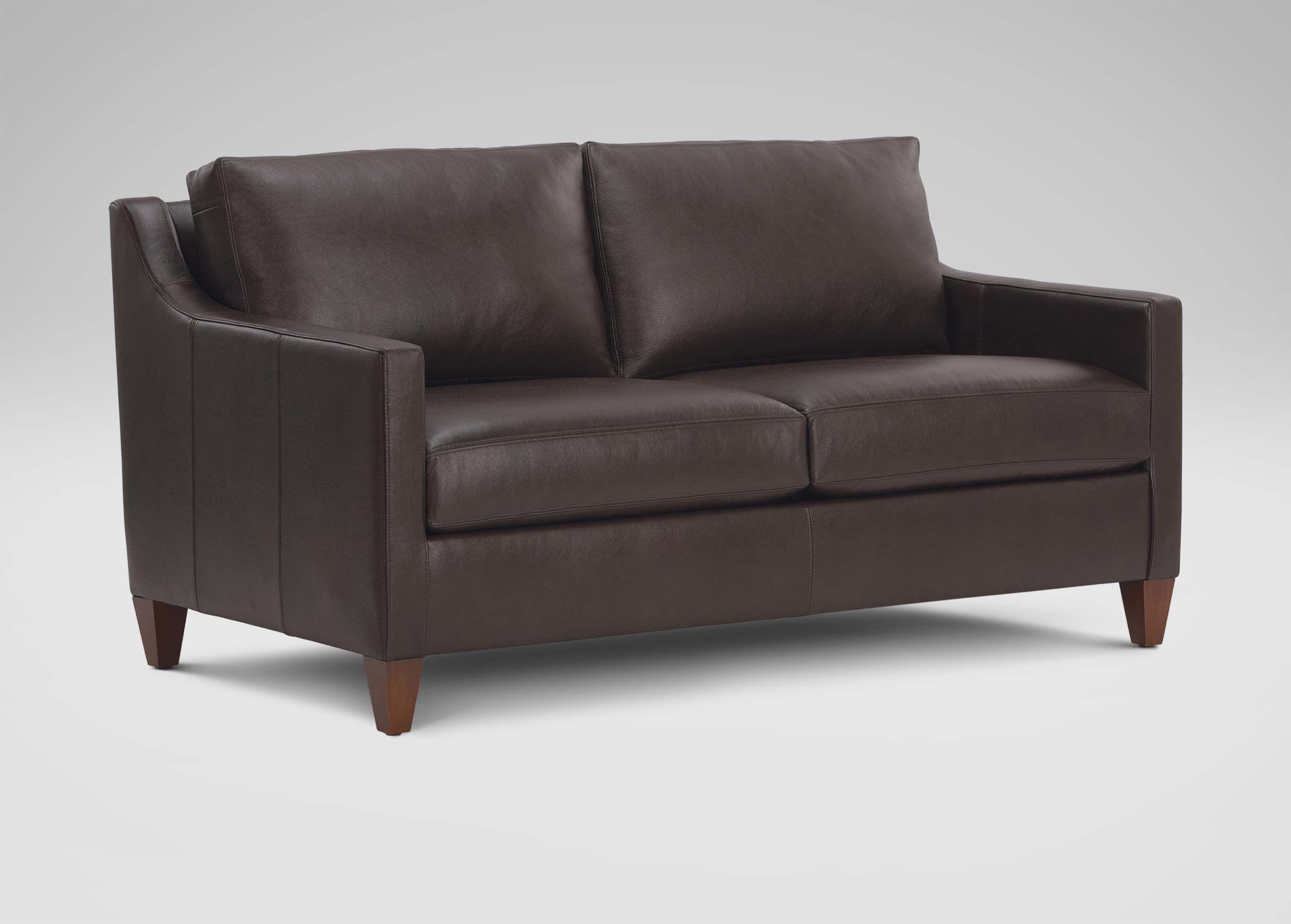 Monterey Leather Sofa , , Alt
