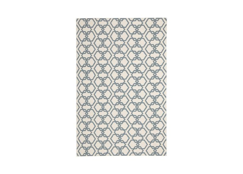 Interlock Rug, Ivory/Seafoam ,  , large_gray