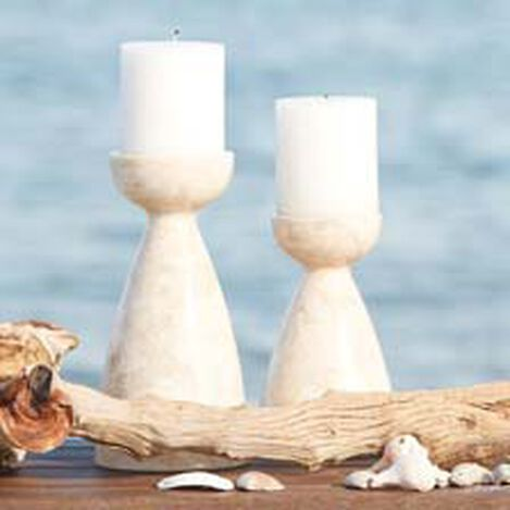 Taleco Tall Marble Candleholder Product Tile Hover Image 432030A