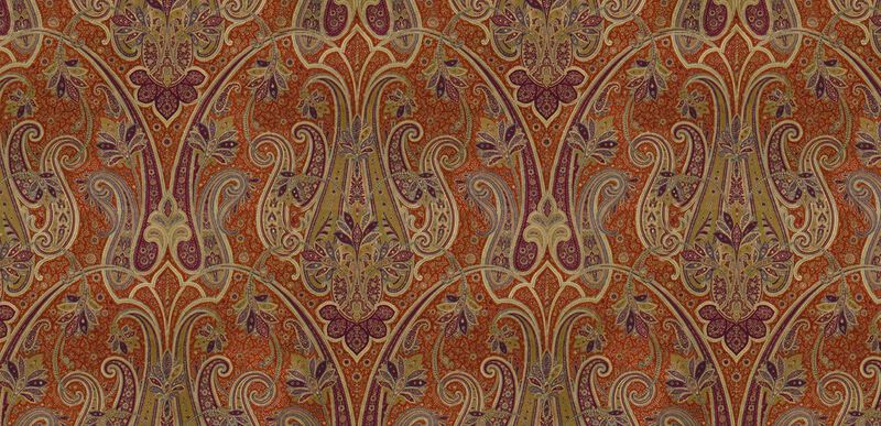 Rasone Crimson Fabric By the Yard