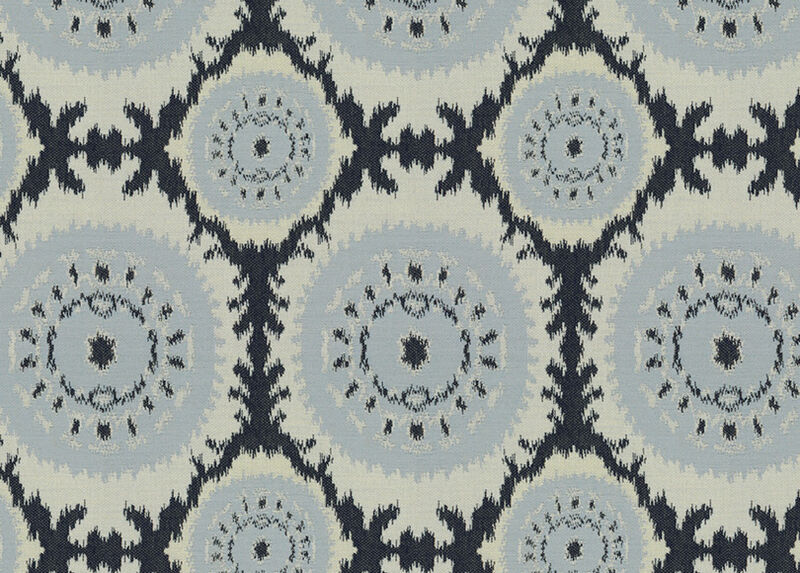Roseto Indigo Fabric by the Yard