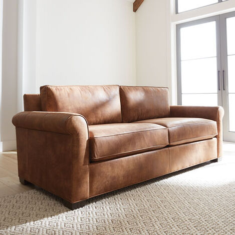 Spencer Roll-Arm Leather Sofa Product Tile Hover Image spencerRAsofaLTH