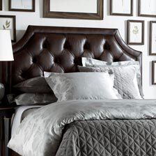 Alison Leather Headboard, Quick Ship. CLEARANCE | BEDROOM