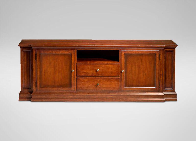Cambridge media cabinet media cabinets for Living room media furniture