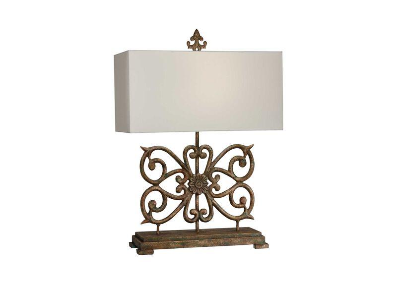 Delphine Console Lamp