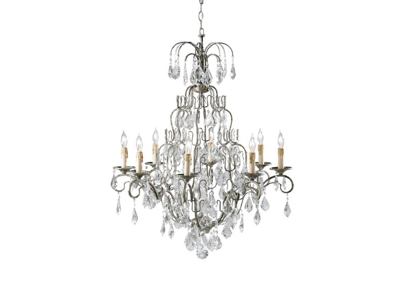 Eight Light Olympia Chandelier ,  , large_gray