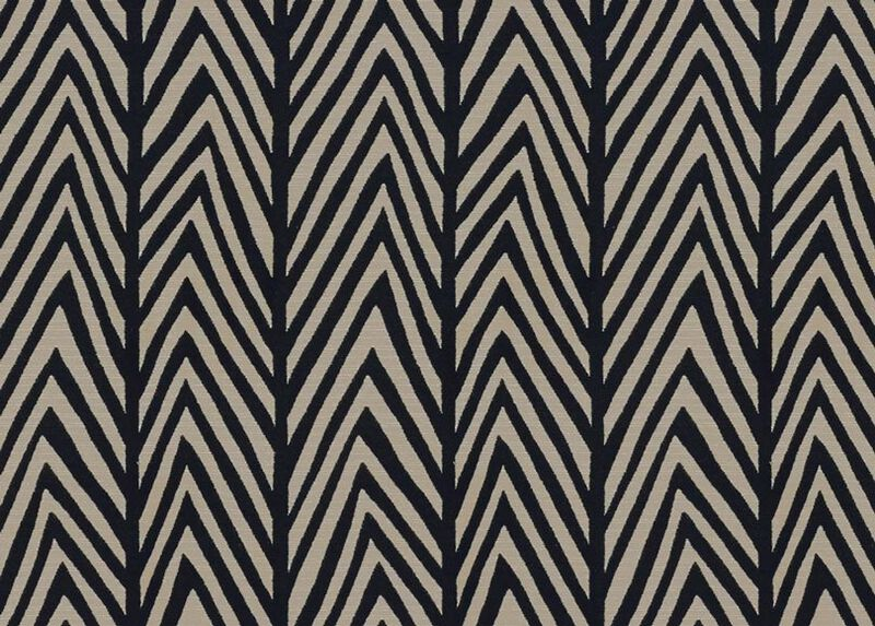 Tempest Black Fabric by the Yard