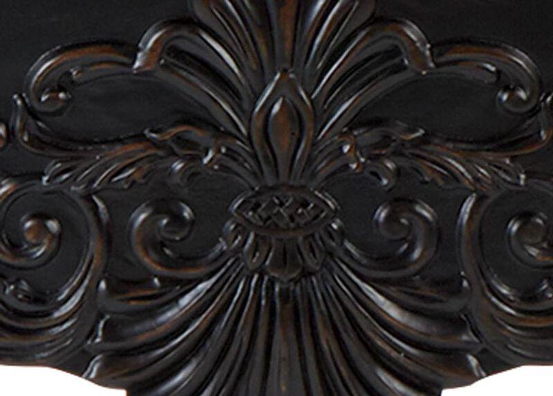 Vintage Black (781) Finish Sample