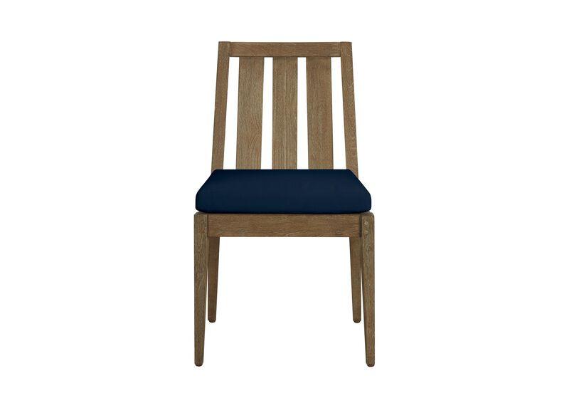 Bridgewater Cove Teak Dining Side Chair