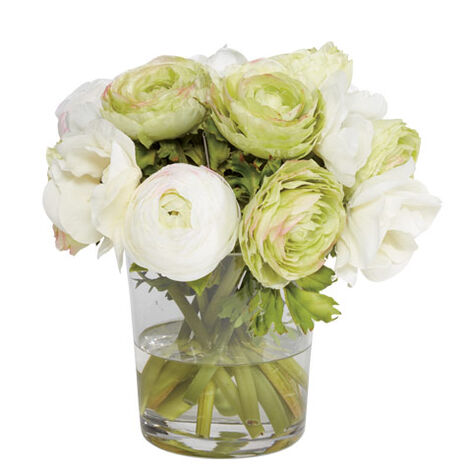 Ranunculus & Poppies in Vase Product Tile Image 442253