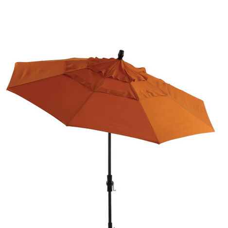 Tuscan Sun Round Market Umbrella, Bronze ,  , large
