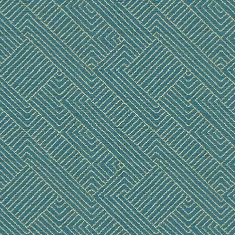 Hadi Teal Fabric By the Yard Product Tile Image 77429