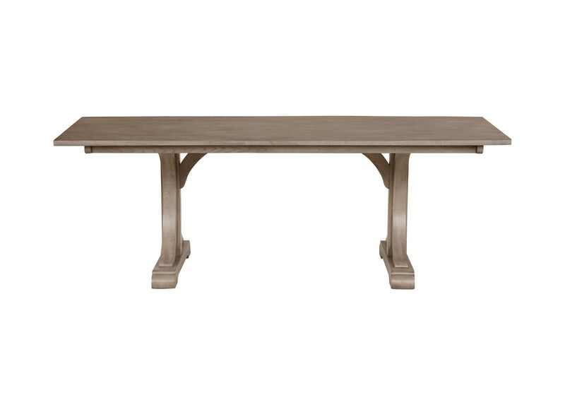Corin Trestle Dining Table ,  , large_gray