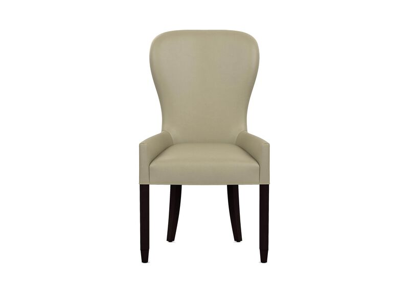 Penelope Leather Dining Armchair ,  , large_gray