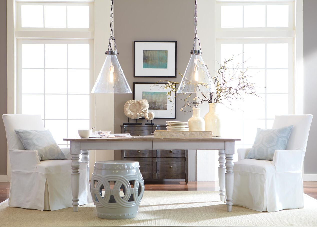 white rustic dining table. Null White Rustic Dining Table