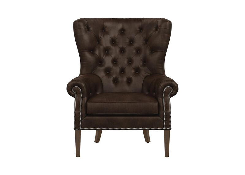 Rhodes Leather Chair ,  , large_gray