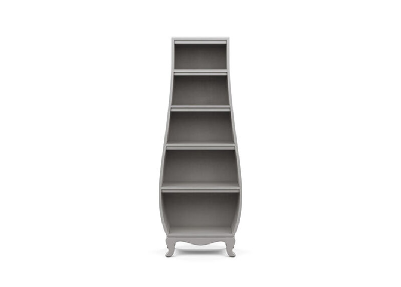 Neverland Bombé Bookcase