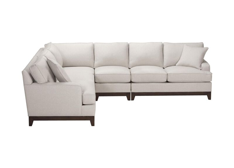 Arcata Four-Piece Sectional, Quick Ship