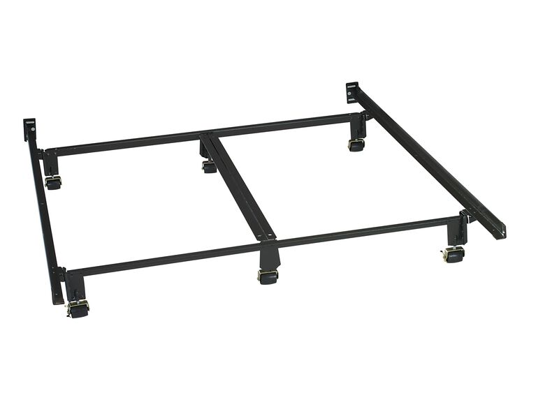 Instant Metal Bed Frame ,  , large_gray